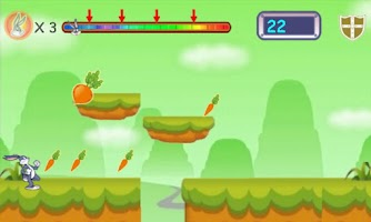 Screenshot of Rabbit Rush