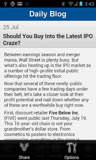 【免費財經App】Navellier's Stock of the Day-APP點子