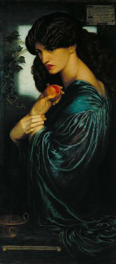 Rossetti Dante Gabriel, Proserpina