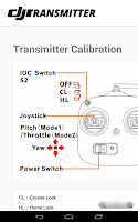 Screenshot of DJI Phantom Transmitter Free