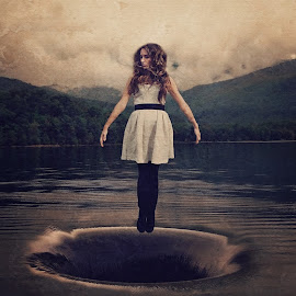by Chrystal Olivero - Digital Art People ( water, levitation, art, fine art, manipulation, photoshop )
