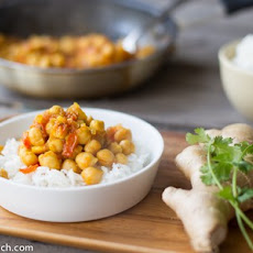 Chickpeas In Masala Sauce
