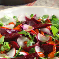 Beet, Carrot, and Watercress Salad