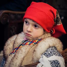 In the church by Paul Padurariu - Babies & Children Children Candids