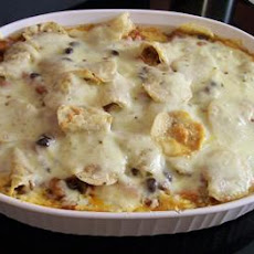 Vegetarian Tortilla Bake
