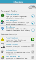 Screenshot of Contacts & Apps Lock