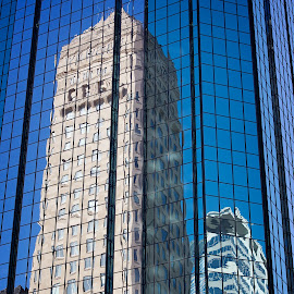 Foshay Tower by Mike Woodard - Buildings & Architecture Office Buildings & Hotels ( foshay, reflection, sky )
