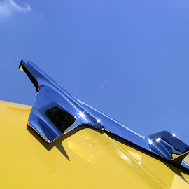Into the Blue by Carlos Serrao - Transportation Airplanes ( flying, sky, airplanes, artistic, car hoods )