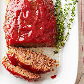 Meat Loaf With Brown Sugar Ketchup Mustard Glaze Recipes
