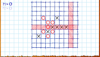 Screenshot of TicTacToe Online