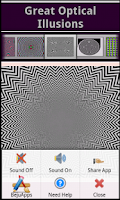 Screenshot of Great Optical Illusions