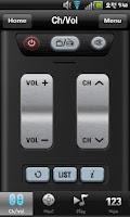 Screenshot of Topfield Remote Controller