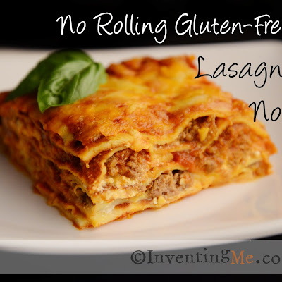 Gluten-Free | Homemade Lasagna Noodles with NO Rolling!