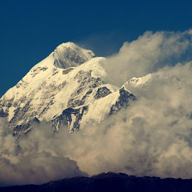 Trishul peak by Sushil Gupta - Nature Up Close Rock & Stone