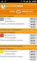 Screenshot of Alicante Tram