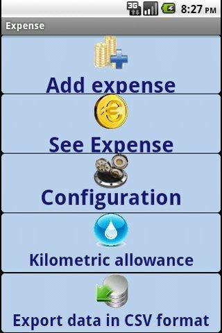 Note de frais et kilométrique