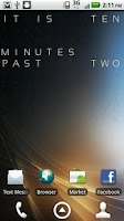 Screenshot of Text Clock Pro Live Wallpaper