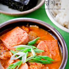 Kimchee Jjigae 2, the easiest Korean stew you can make