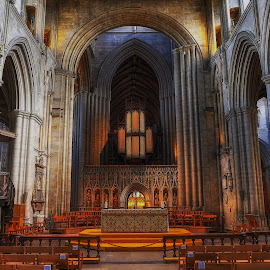 The Altar by Phil Robson - Buildings & Architecture Places of Worship ( church, yorkshire, cathedral, ripon, alter,  )