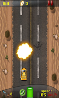Screenshot of Raving  Racer : 2D Car Racing