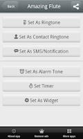 Screenshot of Flute Music Ringtones Free