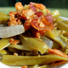 Spanish Green Beans With Bacon
