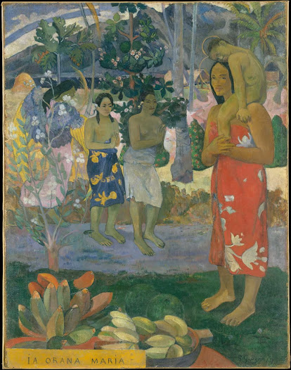 Gauguin Paul, Ia orana Maria