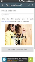 Screenshot of Max de bons plans+codes promos