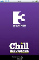 Screenshot of TV3 Weather