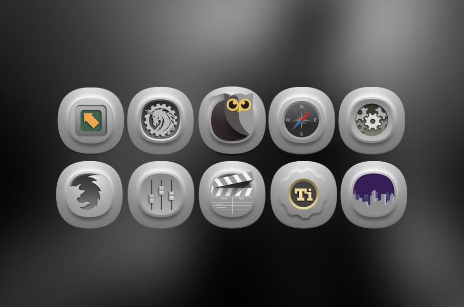 Timbul Icon Pack Screenshot 2