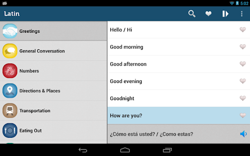 Learn spanish phrasebook pro apk download