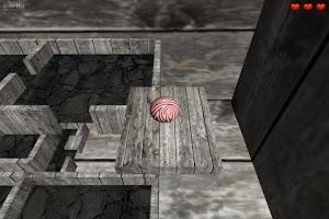 Screenshot of Marble Maze 3D