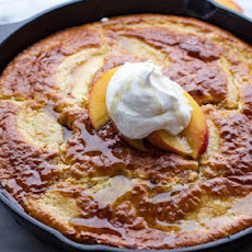 Make-Ahead Peaches 'n Cream Pancake Casserole