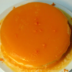 Orange Jellied White Chocolate Torte