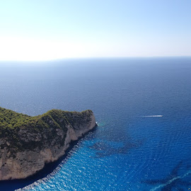 Navagio at Zante by Picture Wizard - Landscapes Caves & Formations ( zakinthos, picweez, zante, navagio, volimes )