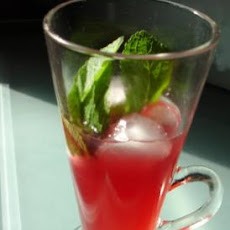 Peach and Mint Iced Tea ( Adult)