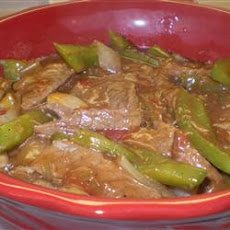 Tomato Pepper Steak
