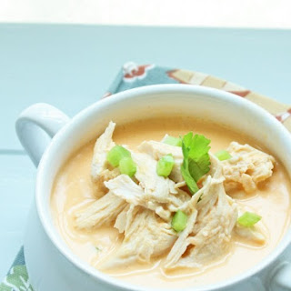 Low Carb Buffalo Chicken Soup