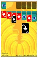 Screenshot of Solitaire Challenge