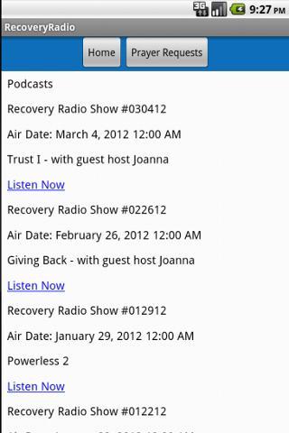 【免費生活App】Recovery Radio App-APP點子