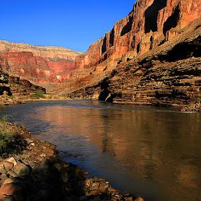 Grand Canyon, Colorado River by Ken Miller - Landscapes Waterscapes ( colorado river, waterscape, arizona, canyon, landscape, river, grand canyon,  )