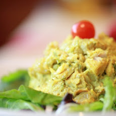 Curried Chicken Salad With Greek Yogurt Recipe