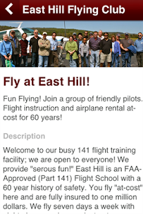 East Hill Flying Club - screenshot