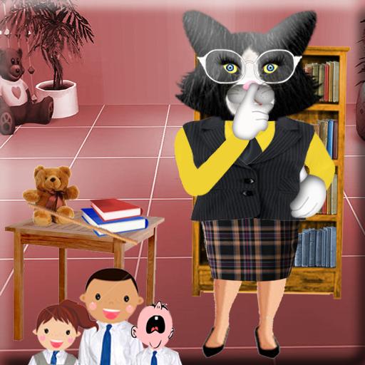 會說話的貓女士 教育 LOGO-玩APPs