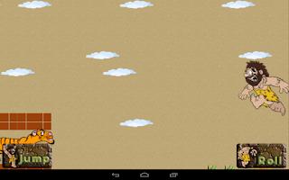 Screenshot of Caveman Tiger Chase