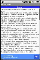 Screenshot of Sainte Bible Gratuit