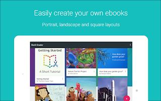 Screenshot of Book Creator