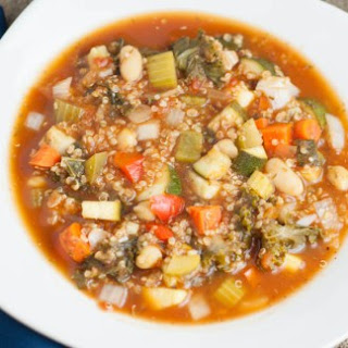 Healthy Vegetable Soup Slow Cooker Recipes