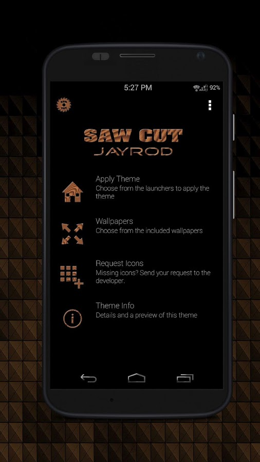 Sawcut_Round - Icon Pack Screenshot 0