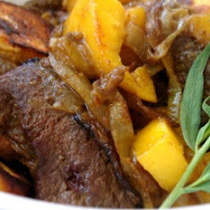 Mango and Plantain Beef